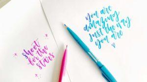 Inspiring Quotes_one kind letterer