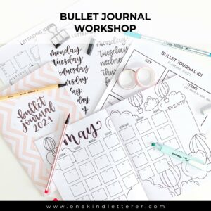 Bullet Journal 101 worksheet Bullet Journal Notebook 2021 Bullet Journal May Layout with hot air balloon theme